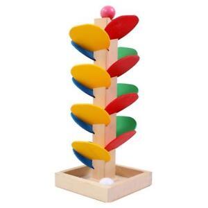 Novelty-Kids-Game-Desktop-Rolling-Ball-Tree-Wooden-Educational-Toys-KV