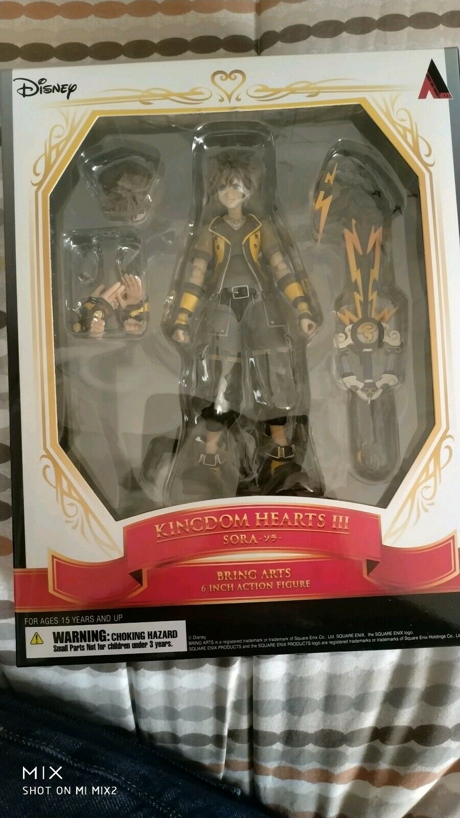 rossoom Hearts 3  bring Arts Limited Sora Guardian forma nuovo  vendita outlet online