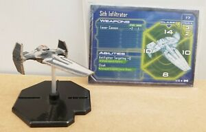 Star Wars Miniatures - Starship Battles: Sith Infiltrator #41