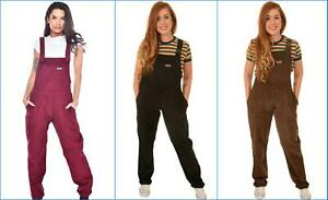 outlet boutique sale uk amazon Details about Run & Fly women's/men's oversized corduroy dungarees in brown  and black and wine