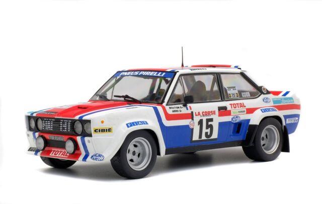 FIAT 131 ABARTH T.DE CORSE 79 voiture miniature 1/18 collection solido1800807