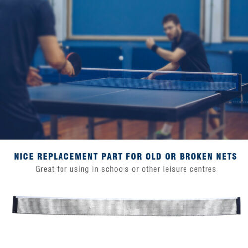 Durable Table Tennis Net Ping Pong Net Replacement Training Practicing Accessory