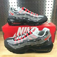 Details about Nike Air Max 95 PRNT Print Left Foot With Discoloration Men Shoes AQ0925 002