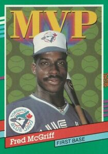 Fred-McGriff-Toronto-Blue-Jays-1991-Donruss-039-91-MVP-Series-Card-Card-No-389