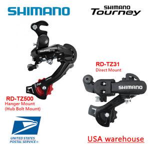Shimano Tourney RD-TZ31 TZ500 6//7 Speed Direct Hanger Mount Rear Derailleur OE