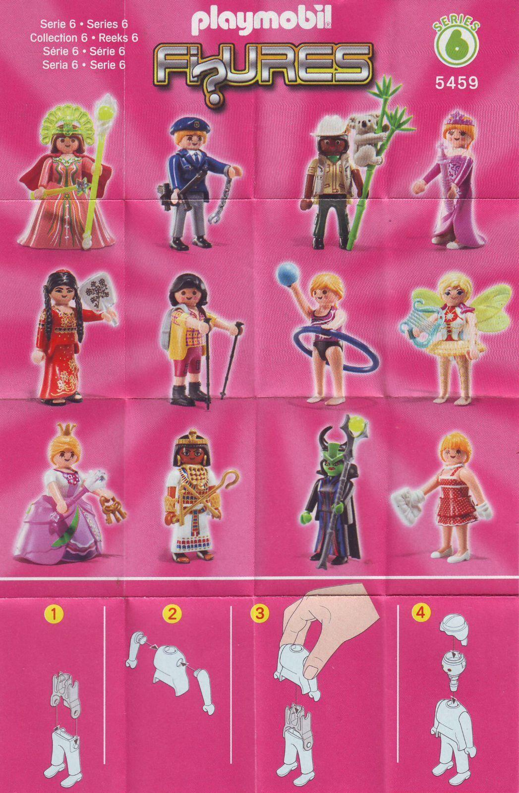 neuf Dame en tenue de soirée Playmobil 5459 série 6