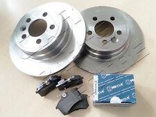 VW Passat 2.0 12//00-03//05 288mm Drilled /& Grooved Sport FRONT Brake Discs