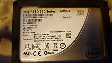 Intel  SSDSC2CW480A3  SSD 520 Series 480GB SATA 6Gb/s 2.5