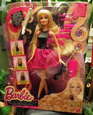 NRFB poupée BARBIE boucles glamour endless curls avec accessoires BMC01