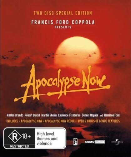 1 of 1 - Apocalypse Now (Blu-ray, 2011, 3-Disc Set)