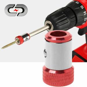 4 Pcs Screwdriver Bit Magnetizer Magnetic Pick Up Tool Magnetizer Ring for Screwdriver Bits 6mm