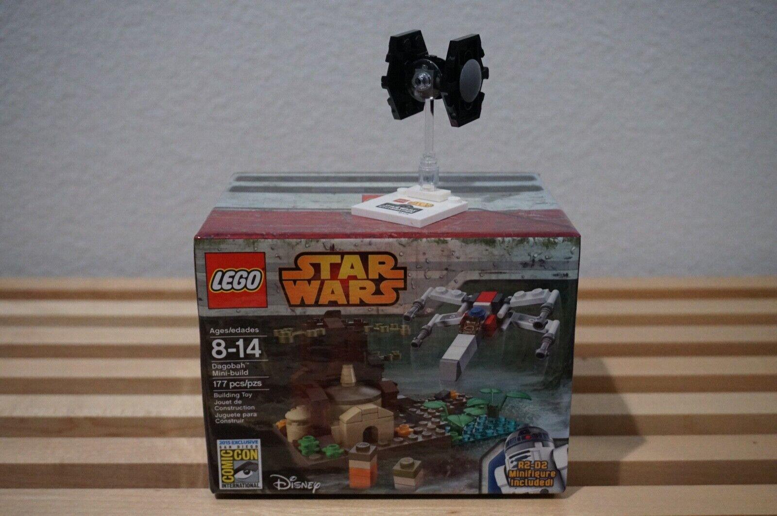 LEGO STAR WARS SDCC 2015 DAGOBAH MINI BUILD  1120 PLUS FREE MINI TIE FIGHTER NEW