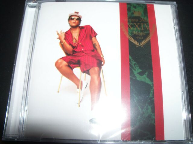 BRUNO MARS 24K Magic (Ft Finesse Versace On The Floor) (Australia) CD – New