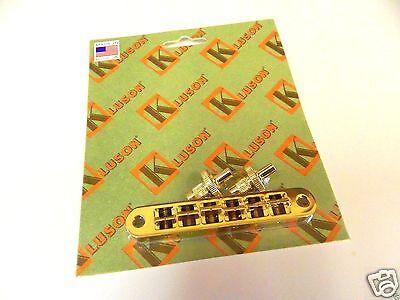 KLUSON NASHVILLE TOM TUNEOMATIC BRIDGE KNTOMST-N MACHINED STEEL NICKEL US MADE