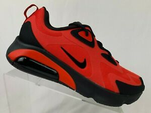 Nike-Air-Max-200-AQ2568-600-Red-Black-Grey-Men-039-s-Sportswear-Running-Shoes