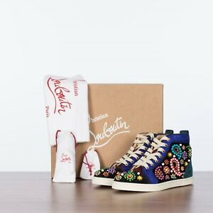 CHRISTIAN-LOUBOUTIN-1595-Snea-Candy-Embellished-High-Top-Sneakers