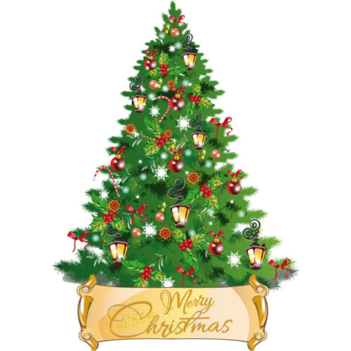 Candy Cane Tree Merry Christmas Wall Sticker WS-45389
