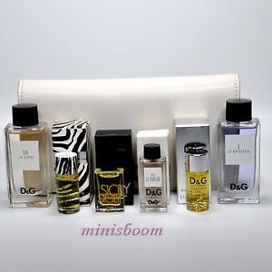 D Case Gabbana Perfume For Mini 6 amp;g Dolce Women Lot In Of About Details Miniature Bottle qzpMUVSG