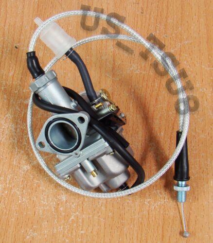 Carburetor /& Throttle for Honda ATC200 ATC200S ATC200M ATC200X ATC200E ATC200ES