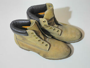 Iconic Vintage Timberland 6-Inch Premium Waterproof Boot Model 10361 Tan US 7.5M