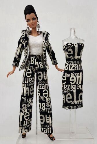 Silkstone Suit Pants Designer Dress Outfit Gown Skirt Barbie Fashion Royalty FR