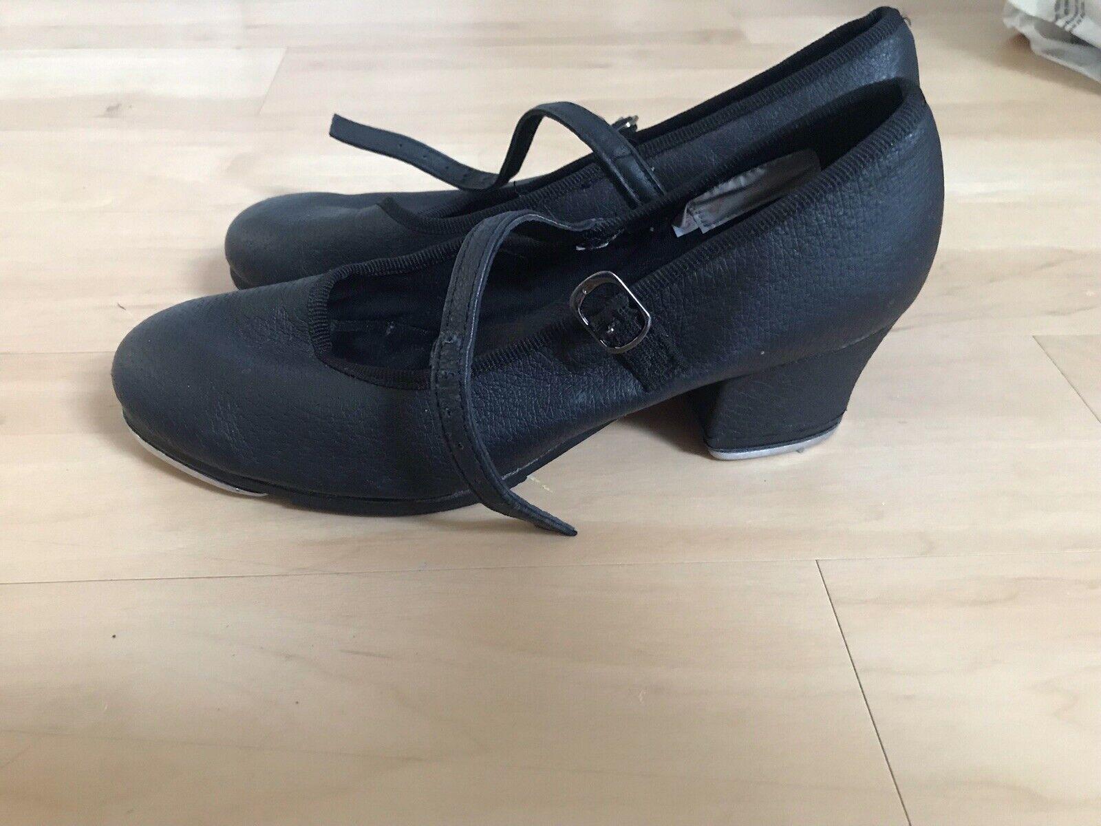 Sansha Heeled Tap Shoes Uk Size 4