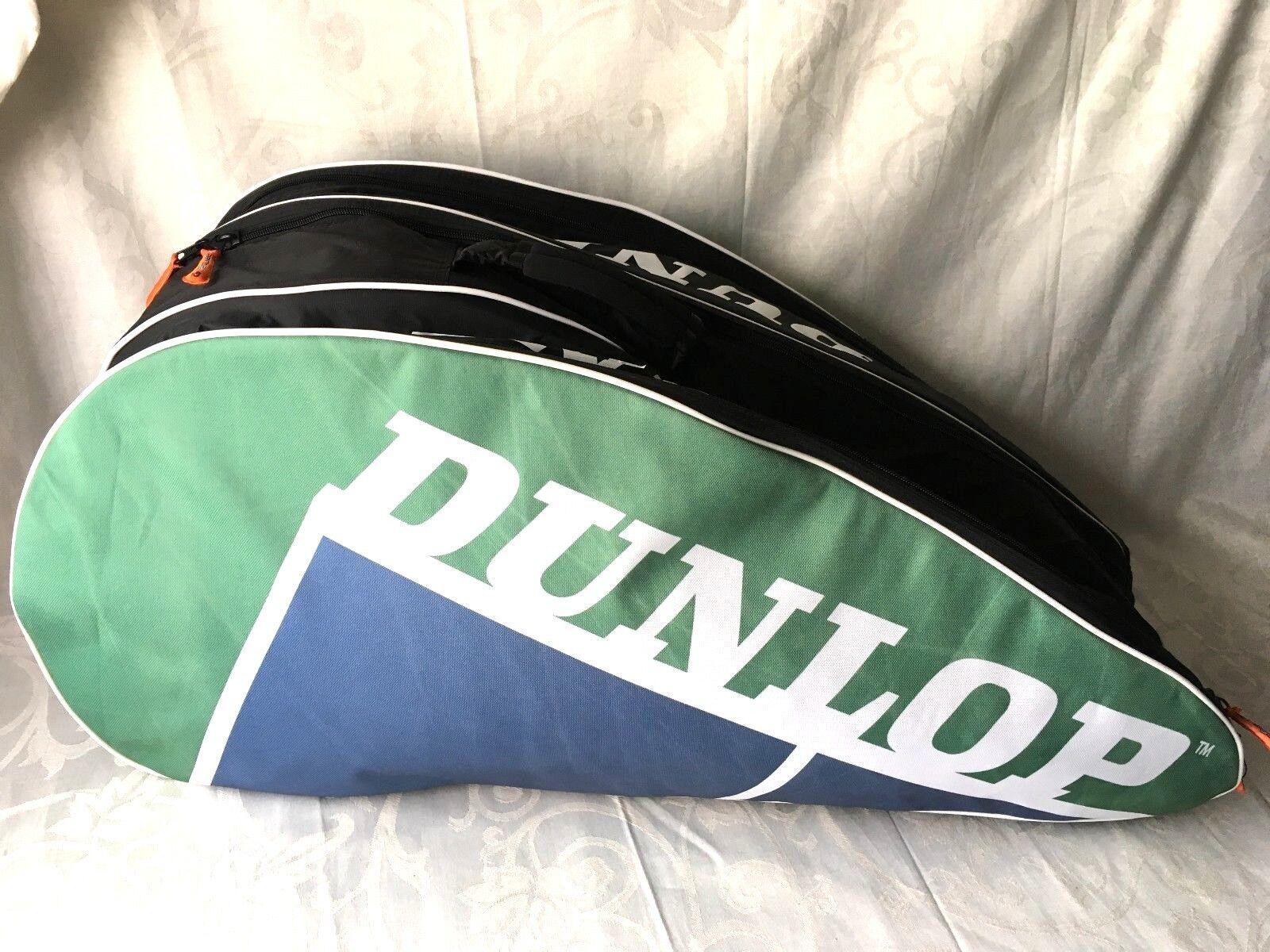 Dunlop 3 vano 12 Racchetta da Tennis Tennis da Borsa Termica Zaino R282 11511f