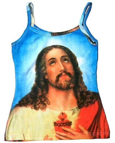Jesus Christ designer star vintage type top shirt G xs//s