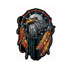 Biker Chopper Motorrad Dreamcatcher Adler Eagle Aufbügler Aufnäher Patch NEU