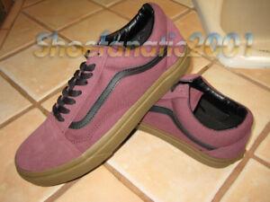 ca925ac10f Vans Sample Old Skool Gum Sole Catawba Grape Black Suede Canvas ...