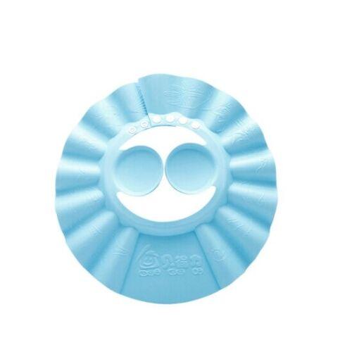 Soft Toddler Baby Bath Hat Shower Shampoo Visor Hats Wash Hair Shield Cap