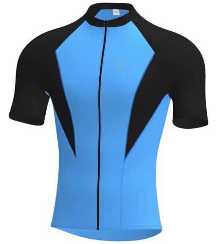 MENS CYCLING HALF SLEEVE JERSEYS FULL ZIPPER BY HERA INTERNATIONAL
