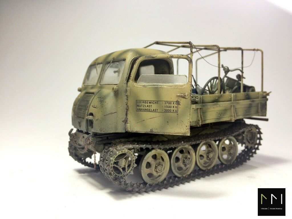 RSO Steyr scale 1 35 - built and painted