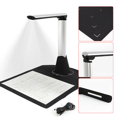 H500 A4 Size Book /& Document 5MP Clear Scanner with Smart OCR LED Light