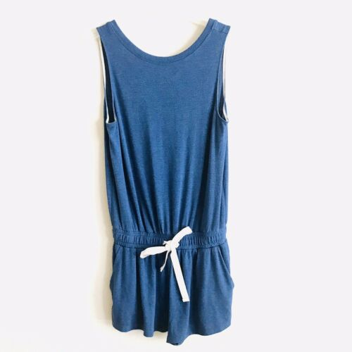 Artizia Wilfred Free Navy Blue sleeveless Terry Cl
