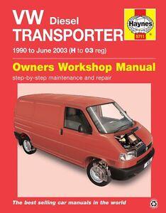 VW-T4-Transporter-TDi-1-9-2-4-2-5-Diesel-1990-2003-Haynes-Manual-5711-NEW