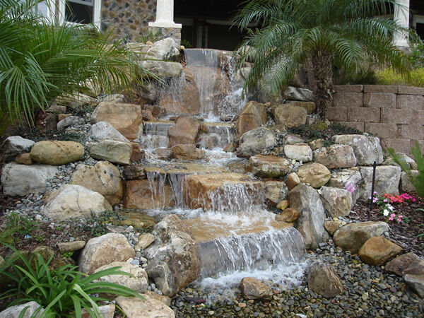 Waterfall Water Feature Kit