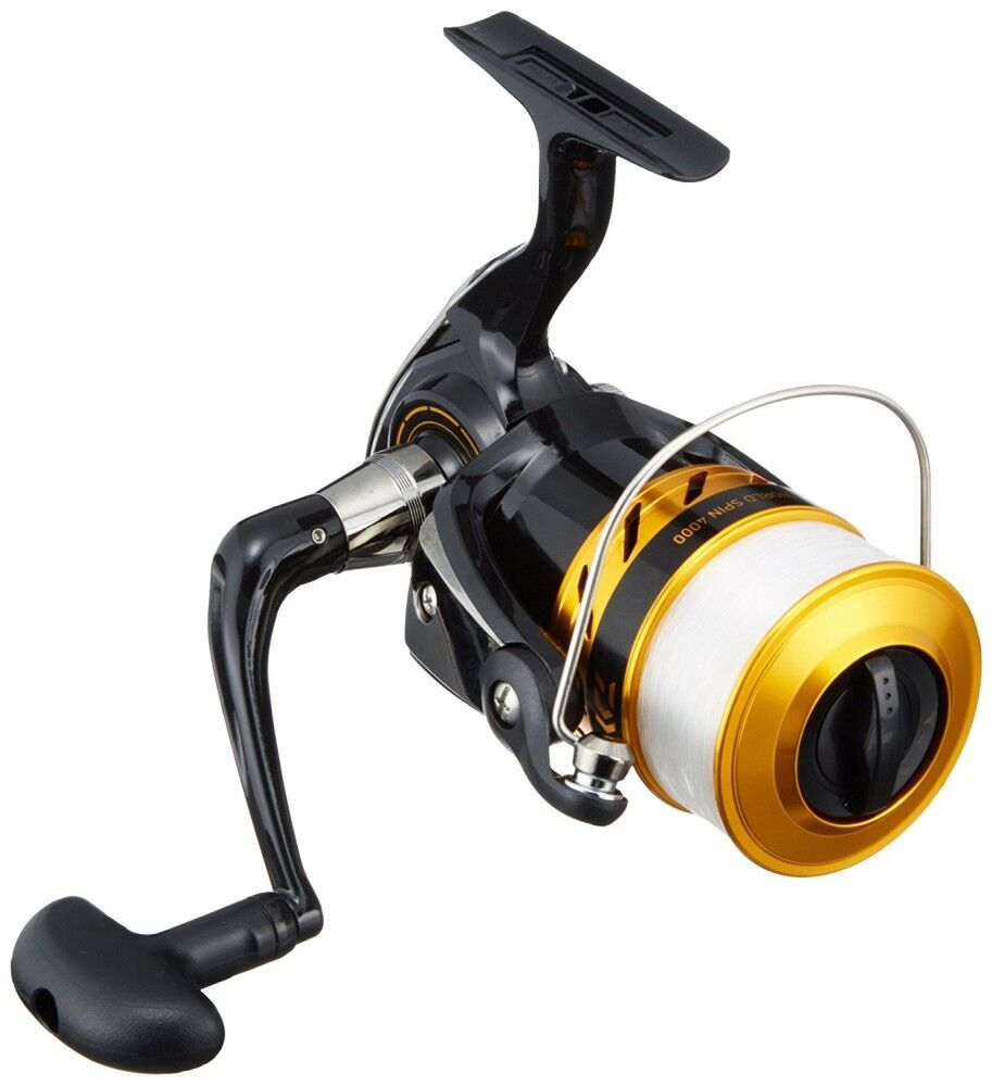 Daiwa Spinning  Reel 17 World Spin 4000 For Fishing From Japan  up to 60% discount