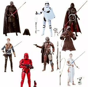 Star-Wars-The-Black-Series-6inch-8-Action-Figures-Wave-1-Case-Kylo-Rey-amp-More