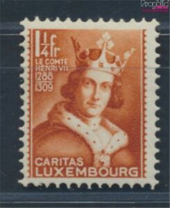 Luxembourg-255-with-hinge-1933-Childrens-Care-8641204