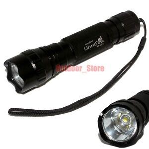 Battery Set Ultrafire C8 18650 CREE XM-L L2 LED 1Mode 1200 Lumens Flashlight