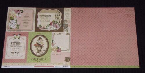 "Kaisercraft /'MADEMOISELLE/' 12x12/"" Paper Floral//Vintage//Roses KAISER You choose"