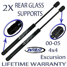 2 Window Glass Rear Hatch Gate Lift Supports Shock Arm Rod For 4X4 4WD Excursion