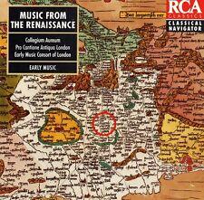 Music from the Renaissance - 1994 album - RCA Classics Classical Navigator