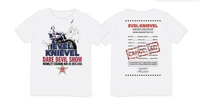 Evel knievel wembley tour t-shirt 2XL