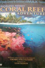 MACGILLIVRAY FREEMAN'S - Coral Reef Adventure (DVD, 2-Disc Set) . FREE UK P+P ..