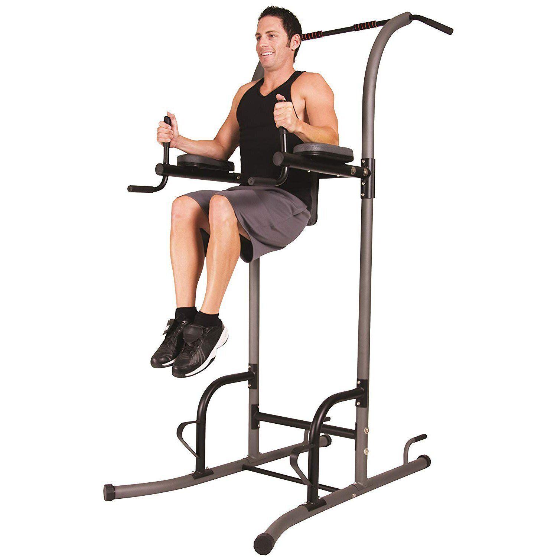 Home Gym Pull Up Stand Dip Push Stand Fitness Übung Bar Stärke Training Neu