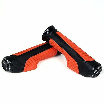 Designer Bike Handle Grip Red Universal Size Handle Bar Grip