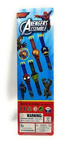 Avengers Iron Man Toys & Hobbies Kids Transforming Character Watches