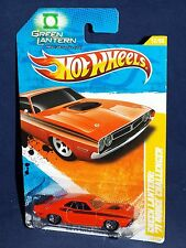 Hot Wheels 2011 New Models #12 Green Lantern: '71 Dodge Challenger Orange